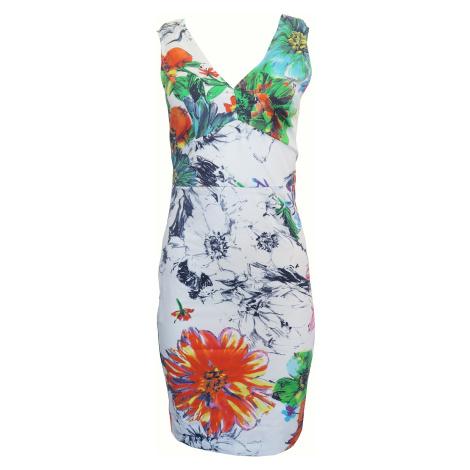Šaty s květinovým potiskem Sandro Ferrone