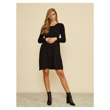 ZOOT Baseline černé svetrové šaty Faith