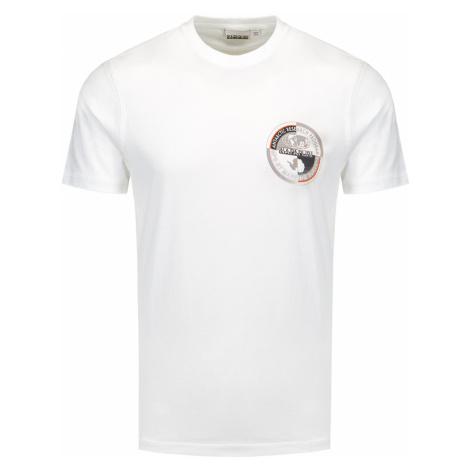 Tričko Napapijri SEOB bílá