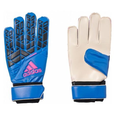 adidas ACE TRAINING modrá - Brankářské rukavice