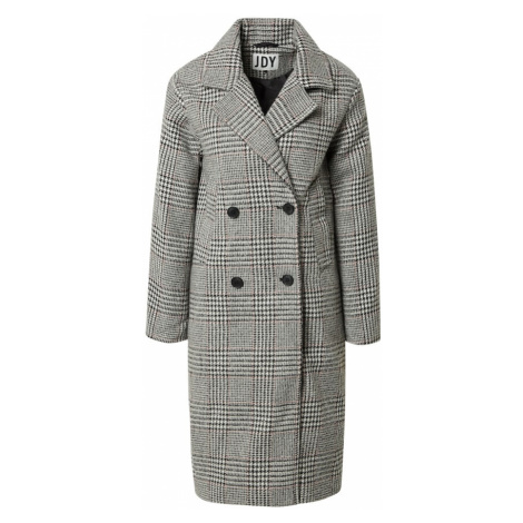 JDY Přechodný kabát 'DAHLIA' černá / bílá