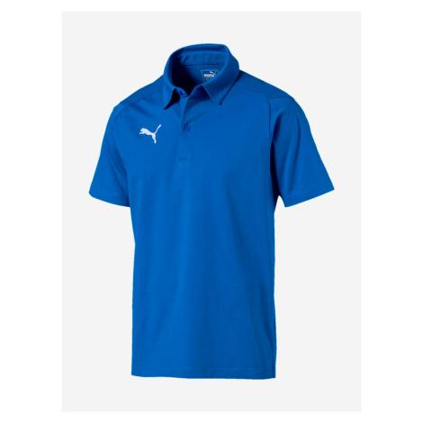 Tričko Puma Liga Casuals Polo Modrá