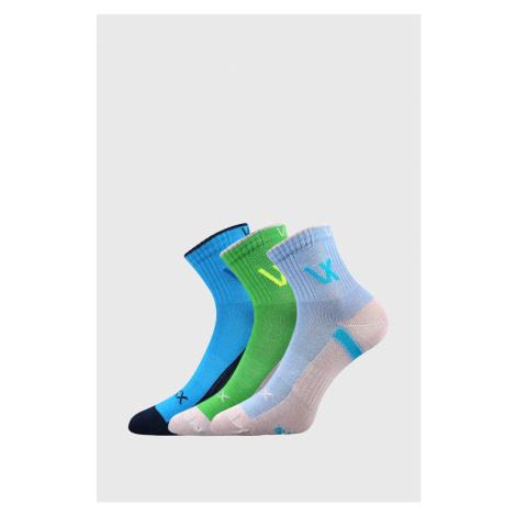 3 PACK chlapeckých sportovních ponožek VOXX Neonik