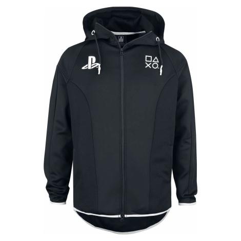 Playstation Playstation Tech Mikina s kapucí na zip černá