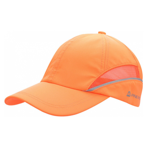 ALPINE PRO SQUIRREL 2 Unisex kšiltovka UHAN013343 neon pomeranč UNI