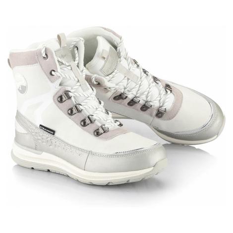 Dámská zimní obuv s PTX membránou Alpine Pro LUNEDA - bílá