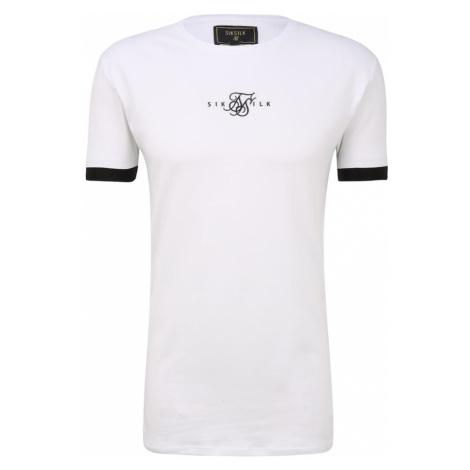 SikSilk Tričko bílá