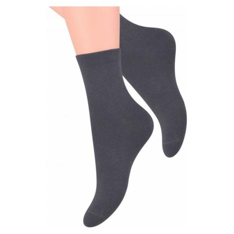 Dámské ponožky 037 dark grey Steven