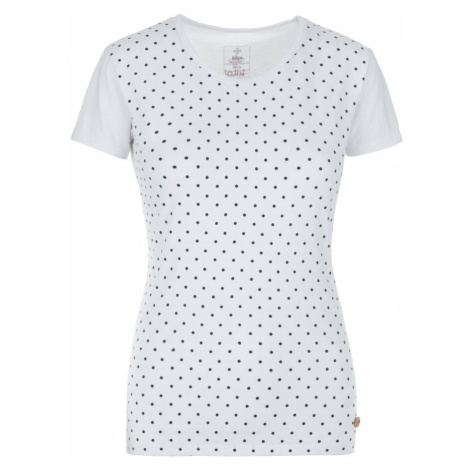KILPI Dámské bavlněné tričko MERSI-W JL0238KIWHT Bílá