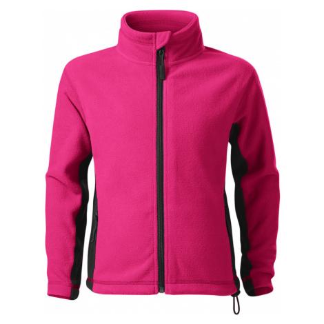 Malfini Frosty Dětská fleece bunda 52940 purpurová