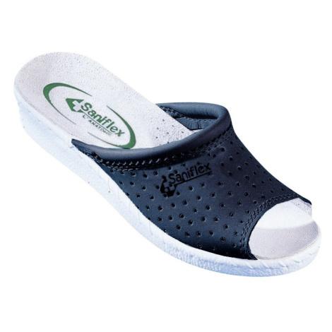 Blancheporte Pohodlné Pantofle, otevřená špička nám.modrá