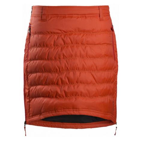 Sukně SKHOOP Short Down Skirt spice orange