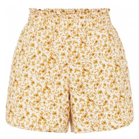 OBJECT Kalhoty 'Nelia' písková / oranžová