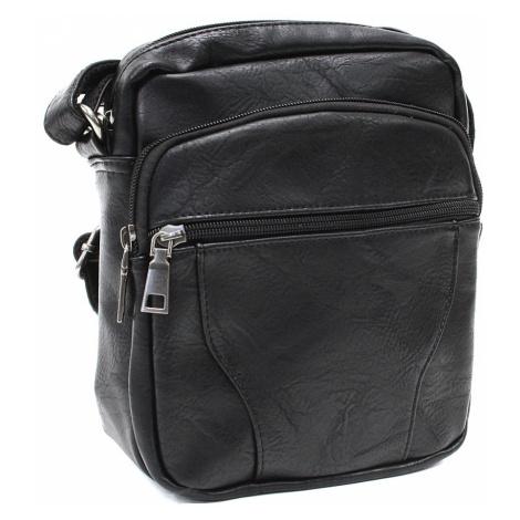 Černá pánská praktická crossbody taška Tyrell Tapple