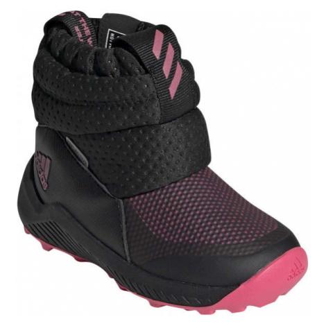 adidas RAPIDASNOW I černá - Dětská zimní obuv