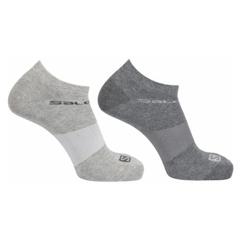 Ponožky alomon Festival 2-PACK LC1335800 - šedá Salomon
