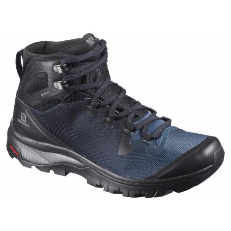 Treková obuv Salomon Vaya MID GTX W - černá/modrá