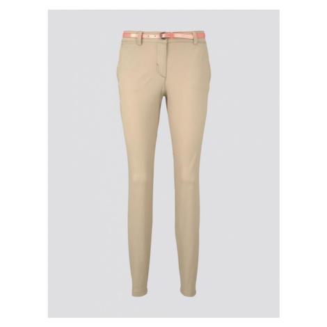 Tom Tailor dámské chino kalhoty s opaskem 1016542/22201