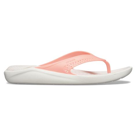 Crocs LiteRide Flip Melon/White