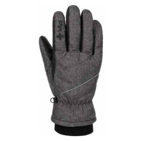 KILPI Unisex lyžařské rukavice TATA-U LU0009KIDGY Tmavě šedá