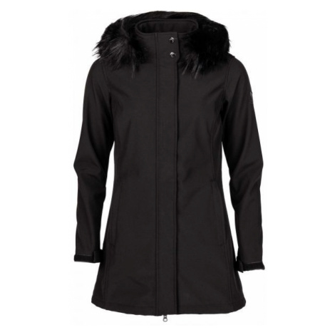Willard KEROL černá - Dámský softshellový kabát