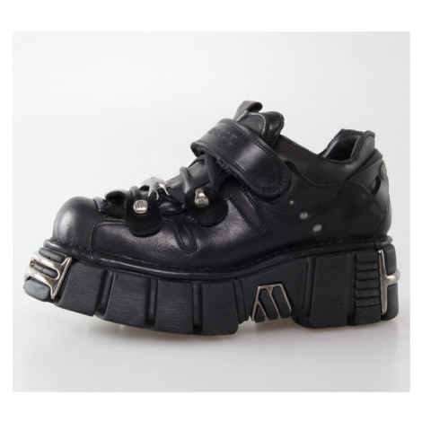 NEW ROCK Bolt Shoes (131-S1) Black Černá
