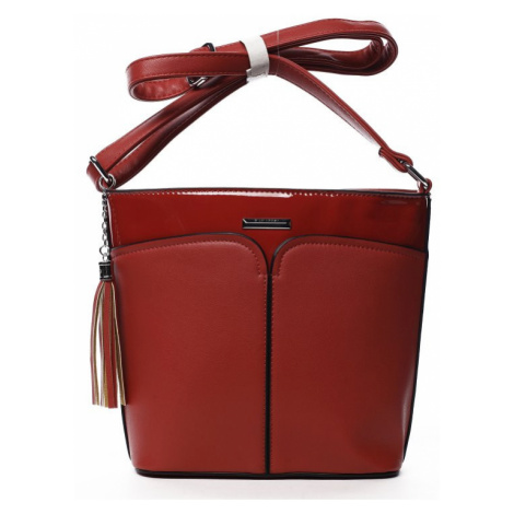 Dámská crossbody kabelka Silvia Rosa Sylvian, červená