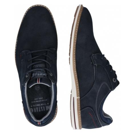MUSTANG Šněrovací boty námořnická modř