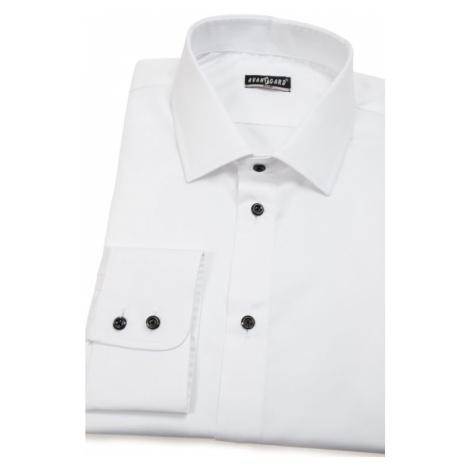 Bílá nežehlivá pánská košile SLIM Avantgard