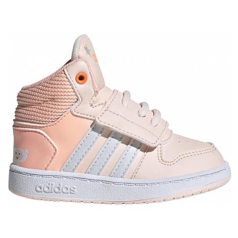 Dětské růžové boty Adidas