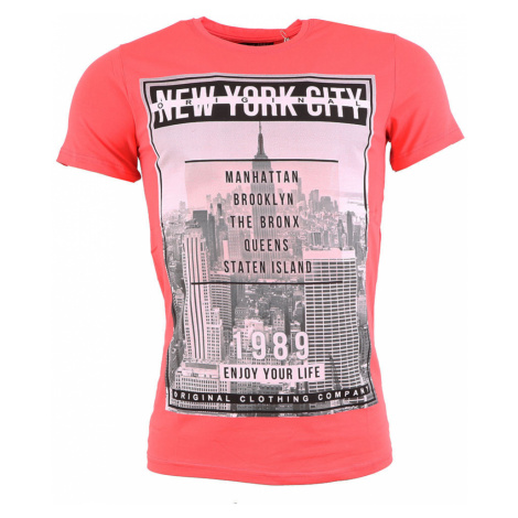 DANIEL & JONES tričko pánské DJ054 NEW YORK