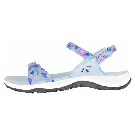 Alpine Pro MAGNUSA MODRÁ / TYRKYSOVĚ MODRÁ Dámské sandály