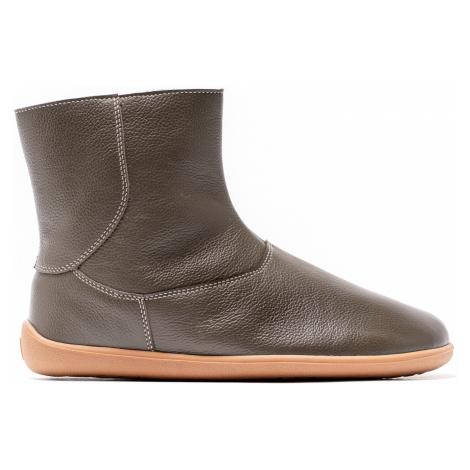 Barefoot kotníkové boty Be Lenka Polar – Olive Green 42