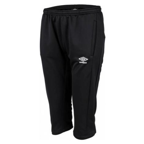 Umbro FW 3/4 PANT černá - Pánské tříčtvrteční kalhoty