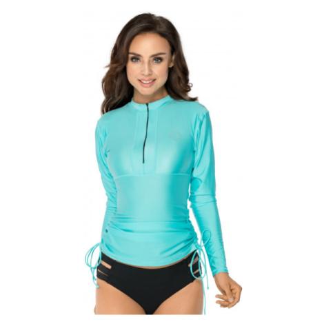 Tyrkysové tričko do vody s UV ochranou RELLECIGA | vrchní díl