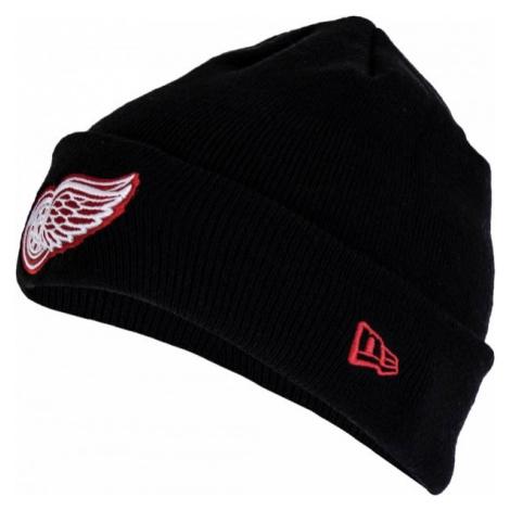 New Era SMU NHL CUFF KNIT DETRED černá - Klubová zimní čepice
