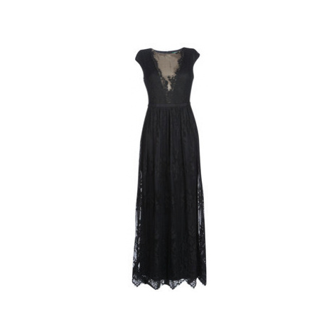 Lauren Ralph Lauren CAP SLEEVE LACE EVENING DRESS Černá