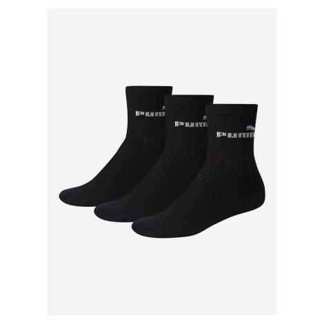 Ponožky Puma Sport Junior 3 Pack Černá