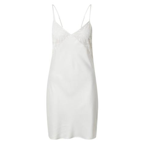 PASSIONATA Negližé perlově bílá