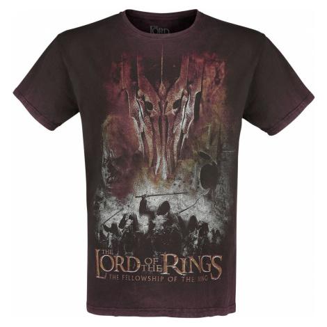 Pán prstenů Knights Of Mordor tricko červená