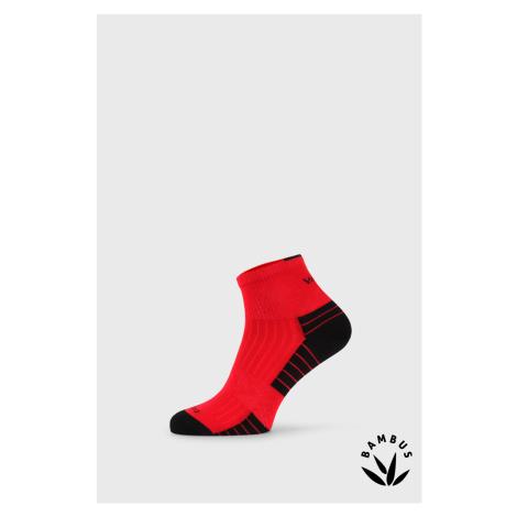 Sportovní bambusové ponožky Belkin červená VoXX