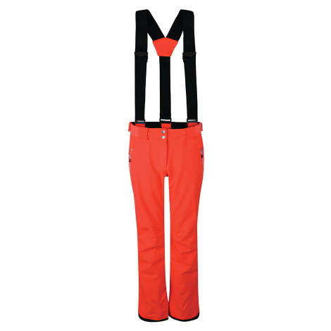 Dámské lyžařské kalhoty DARE2B DWW460 Effused Oranžové