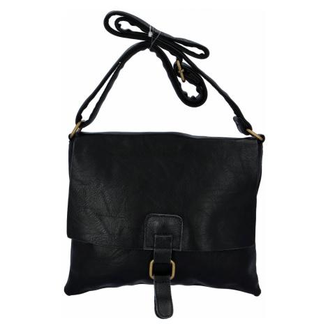 Dámská crossbody kabelka černá - Paolo Bags Jostein