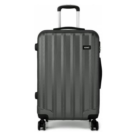 Šedý cestovní kvalitní velký kufr Corbin Lulu Bags