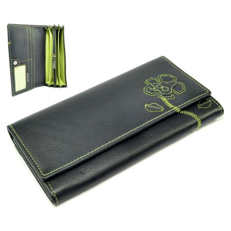 Dámská peněženka modrá velká Golunski