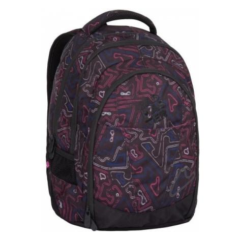 Bagmaster Dívčí studentský batoh DIGITAL 7 A 24 l