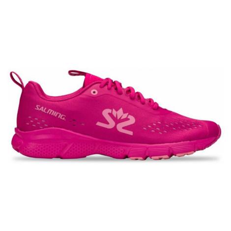 Dámské běžecké boty Salming enRoute 3 tmavě růžové,