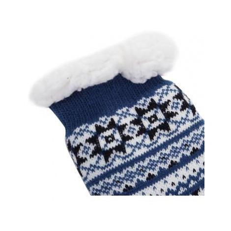 Silné teplné ponožky Alpine Pro SINNIR - modrá