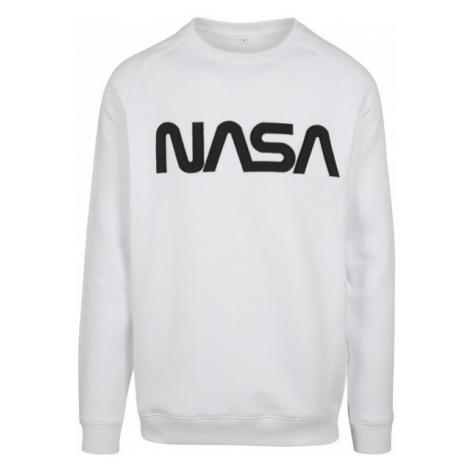 Mr. Tee NASA EMB Crewneck white