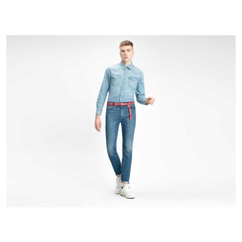 Košile Levi´s® Barstow Western Standard pánská světle modrá